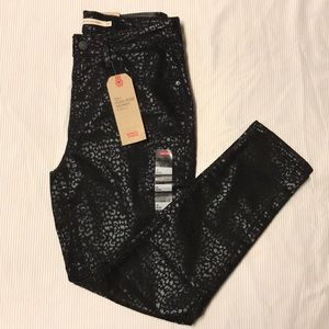 NWT Levi's 721 High Rise Skinny Ankle Jeans 10